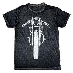 Men's Motorcycle Burnout T-Shirt | Cool Vintage Motorcycle Tee | PalmerCash