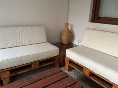 sillones de terraza de pallet, de Ecopalet