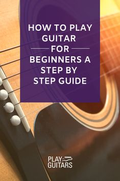 Want to become a guitar playing rockstar? Are you wondering how to play the guitar? Then you are in the right place. We'll cover all the steps needed for a budding beginner guitarist to learn quickly. Learn Guitar Beginner, Ukulele Songs Beginner, Guitar Songs For Beginners, Basic Guitar Lessons, Easy Guitar Songs, Music Guitar, Playing Guitar, Learning Guitar, Guitar Girl