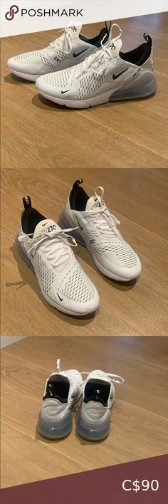 Nike Air Max 270 White air max 270 shoes Only worn a few times Still very clean new condition Nike Shoes Athletic Shoes Nike Vapormax Flyknit, Nike Af1, Air Max 360, Nike Zoom Pegasus, Nike Air Max Plus, Nike Roshe Run, Nike Flex, Nike Dunks, Men S Shoes