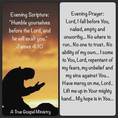 Evening S rupture and Prayer #atruegospelministry