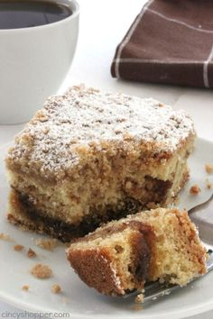 14 Delicious Coffee Cake Recipes You'll Want to Eat Right Now | Just Bright Ideas