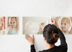 Photo Collage Wall Decal $29.99