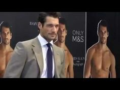 ▶ David Gandy launches his collection of underwear for Marks and Spencer (18/09/2014) - YouTube