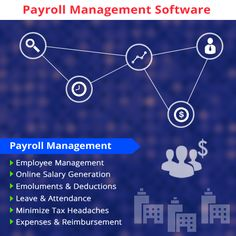Payroll software designed for a company to manage account and details of employees' salary associated with all division or branch under the company.