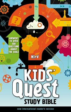 The  NIrV Kids' Quest Study Bible  is a hardcover study Bible for kids.      At the front of the  NIrV Kids' Quest Study Bible  is a pres...