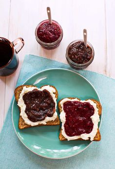 Easy blender chia jam