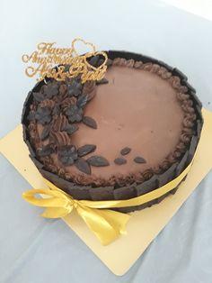 Anniversary steamed cake
