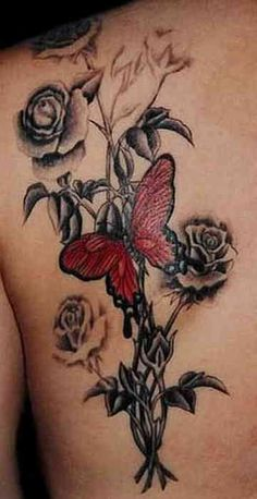 Butterfly Tattoo # 106