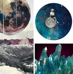 Commentary on a round up of some of @Kevin & Robin -'s pins. #space #art