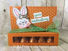 Cute Easter treat favor using Friends & Flowers, Greatest Greetings Stampin Up!