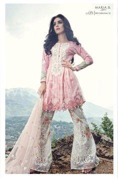 Maya Ali for Maria B Eid Lawn Collection 2016