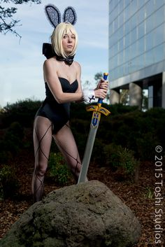 bunny Saber from Fate Stay/Night cosplayer: hexgirl photographer: Toshi Studios