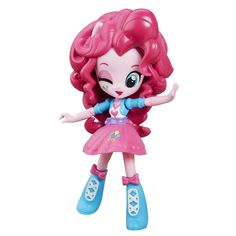 Buy My Little Pony: Pinkie Pie Doll at Mighty Ape NZ. This My Little Pony Equestria Girls Minis Pinkie Pie doll is fun to pose! Pretend to express the personality of Pinkie Pie with this cute mini-doll w. My Little Pony Dolls, All My Little Pony, My Little Pony Friendship, Pinky Pie, Lalaloopsy, Equestria Girls, Games For Girls, Toys For Girls, My Little Pony Merchandise