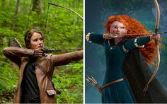 Personagens de filmes que amamos que têm tudo a ver com princesas da Disney - Famosos - CAPRICHO