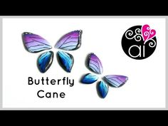 Butterfly Wings Cane | Polymer Clay Tutorial - YouTube