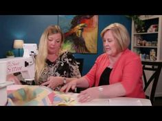 Join Helen Godden and Vicki Hoth as Helen demonstrates various couching techniques on the HQ Sweet Sixteen! You do not need to sign in to watch the HQ Live s. Longarm Quilting, Free Motion Quilting, Quilting Tips, Quilting Tutorials, Machine Quilting, Quilting Designs, Handi Quilter, Blanket Stitch, Sweet Sixteen