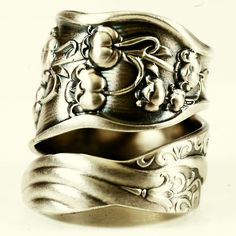 Spoon Ring Unique Lily of the Valley Art Nouveau by Spoonier, $62.00