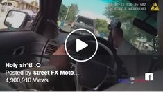 One intense police chase! Police, Law Enforcement