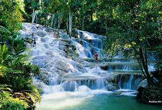 Jamaica dunn's river falls. Da war ich zwar schon mal, freue mich aber Dank SU nochmal hinzukommen. ;-)