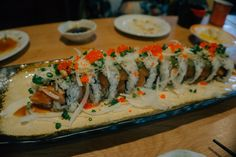One Day East Busan Itinerary (Part 2): Haeundae Beach & Market + Best Sushi in Town | The Classic Wanderer Rainbow Roll, Busan South Korea, Sushi Set, Traditional Market, Famous Beaches, Best Sushi, Fresh Seafood, Sushi Rolls, Tempura