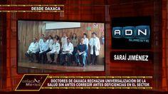 COLEGIOS DEL SECTOR SALUD DE OAXACA CRITICAN PROGRAMA FEDERAL