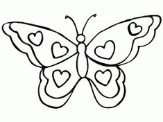 butterfly coloring pages for kindergarten, butterfly coloring pages for preschool, butterfly coloring page for firstgrade, free printable coloring page Heart Coloring Pages, Butterfly Coloring Page, Butterfly Drawing, Coloring Pages To Print, Free Printable Coloring Pages, Free Coloring Pages, Coloring Sheets, Coloring Books, Butterfly Pictures