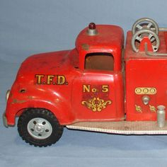 VINTAGE TONKA FIRE DEPARTMENT SUBURBAN PUMPER #950 PRESSED STEEL ...