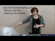 diy veil: step three