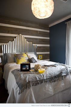 20 Creative Headboards for a Bedroom Makeover