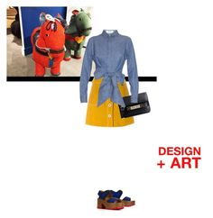 """""""Design+Art 2016 Nº 14"""" by sharmarie ❤ liked on Polyvore featuring Marni, MiH Jeans, Proenza Schouler, MSGM, women's clothing, women's fashion, women, female, woman and misses"""
