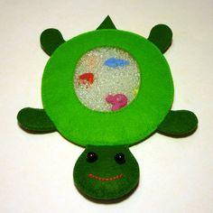 I Spy Bag TURTLE Eye Spy Bag Busy Bag Sensory Toy by 2mano