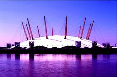 Millennium Dome Beautifully Lit