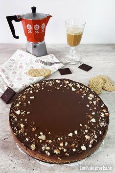 Nepečený čokoládový cheesecake Sweet Desserts, Sweet Recipes, Gluten Free Cakes, Cheesecakes, Chocolate Fondue, Tiramisu, Food And Drink, Cooking, Ethnic Recipes
