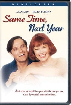 Same Time, Next Year, 1979 Golden Globe Awards Best Actress in a Motion Picture - Musical or Comedy winner, Ellen Burstyn #GoldenGlobes #GoodMovies #Movies