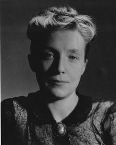 Louise Bourgeois by Berenice Abbott, 1949.