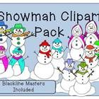 This download is for a Snowman Clipart Pack that includes the blackline masters. There are 18 .png files in all. Please see the clipart preview to ...