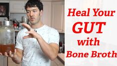 Learn the Best Bone Broth Recipe For Healing Leaky Gut. Bone broth is rich in collagen and various peptides that are very healing. intense detox diet