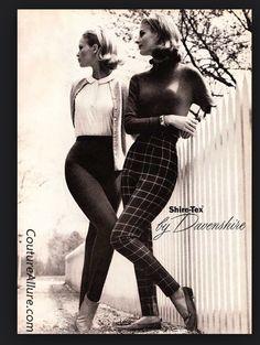 60's fashion, female pants
