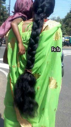 Bun Hairstyles For Long Hair, Braids For Long Hair, Braided Hairstyles, Indian Long Hair Braid, Long Dark Hair, Super Long Hair, Beautiful Braids, Long Black, Rapunzel