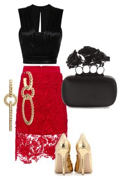 """""""Н"""" by stels-89 on Polyvore featuring Isabel Marant, Gianvito Rossi, Alexander McQueen and John Hardy"""