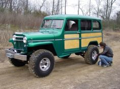 1955 Willys Wagon.