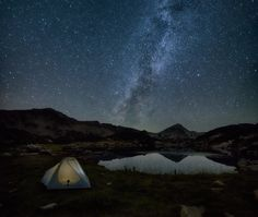 Night in Pirin Mountain (Bulgaria), by Emil Rashkovski