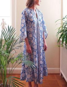 Bell Dress - Blue