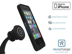 Wireless Charging with Locking Mount Case for iPhone 5S & 6 by Revocharge — Kickstarter