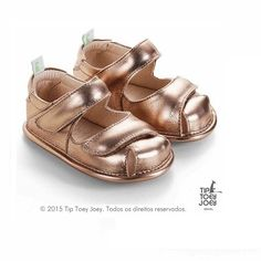 Sandália Tip Toey Joey Peppy Dourada