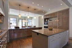 Calgary - 3 - Elbow Park homes, by Empire Custom Homes - contemporary - kitchen - calgary - DEKORA Staging Inc