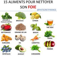 """Fatsecret-France on Instagram: """"15 aliments pour nettoyer son foie - ✅Les légumes verts Les épinards, le chou ou encore les haricots sont de réels antioxydants qui aident…"""""""