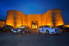 Travelling from the hottest to the wettest places in the country, putting the quattro technology to the test here is a snap shot of the Audi A6 and Audi A4 as they completed the first leg of the Great Indian quattro Drive, powered by Autocar India.