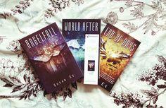 Jeste li čitali? Serijal 'Penryn i kraj vremena': 1. Pad anđela [eng. Angelfall] 2. Svijet poslije [eng. World after] 3. End of days
